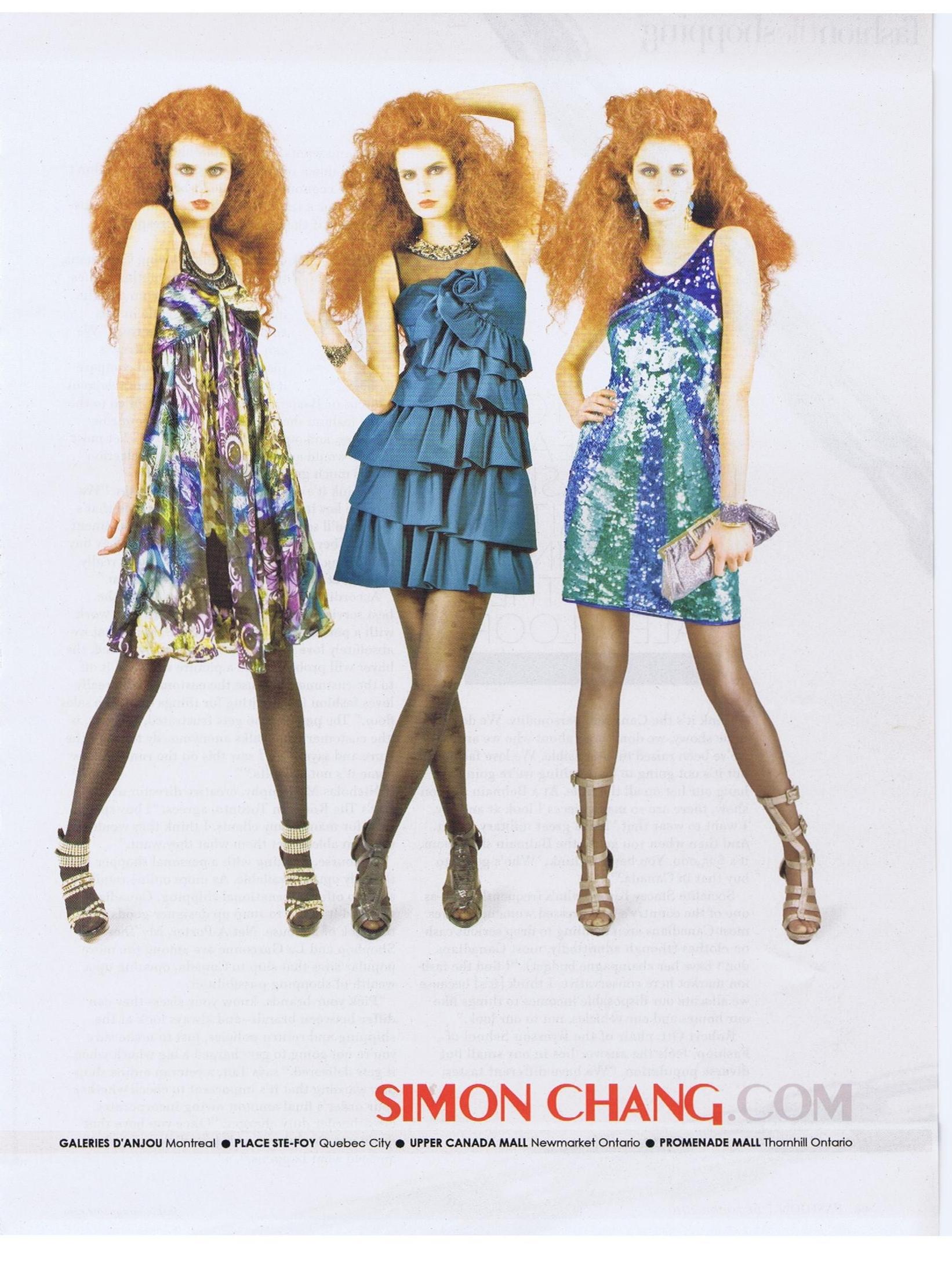 Simon chang fashion designer