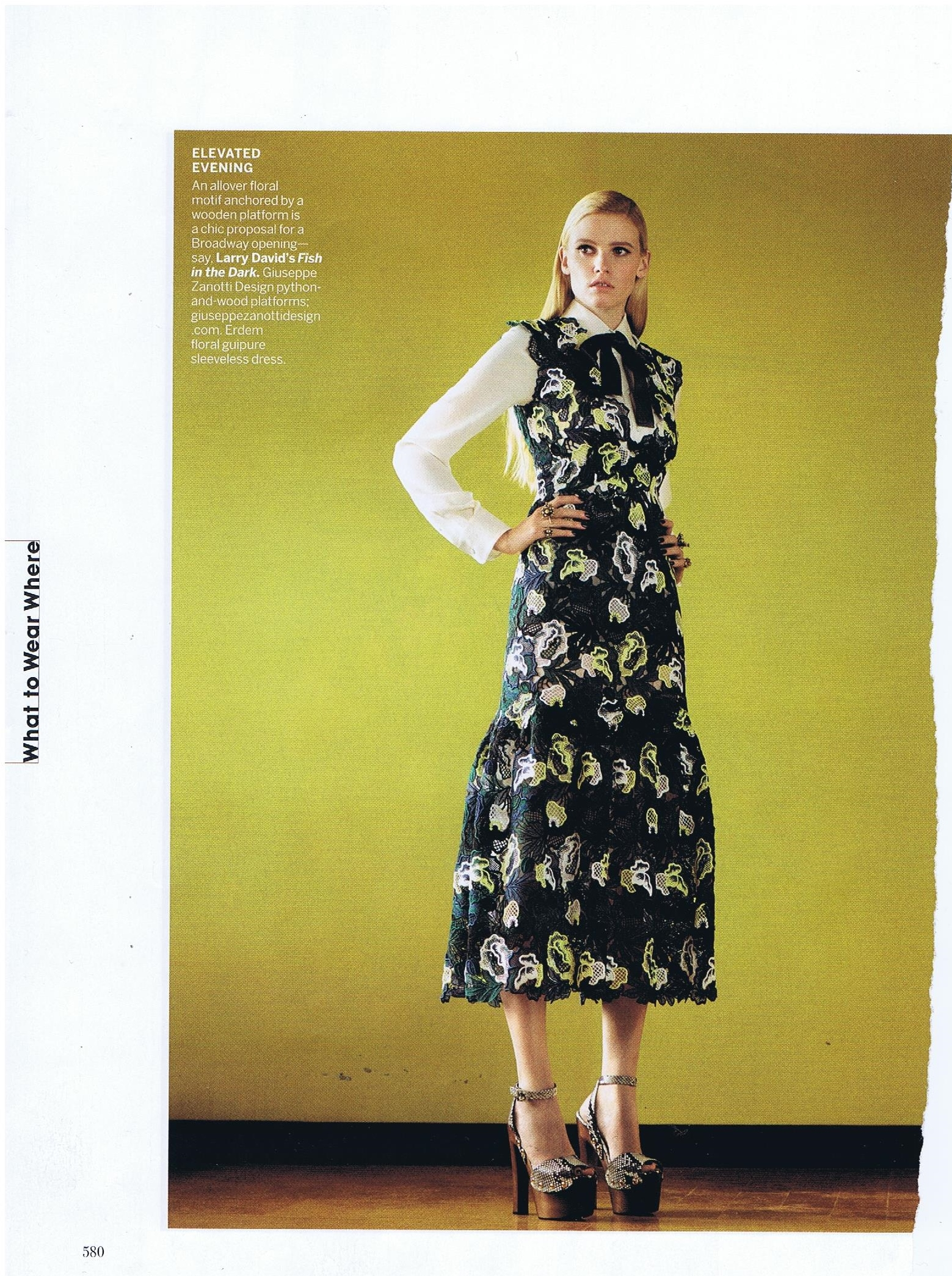 ERDEM VOGUE  MARCH 2015